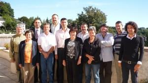 Equipe secrétariat fédéral PS19 septembre 2010