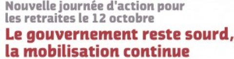 Retraites : mardi, on continue !