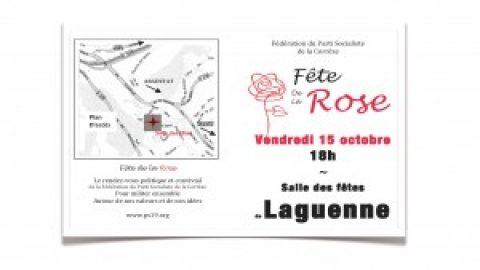 Fête de la rose le 15 octobre à Laguenne > Venez nombreux !