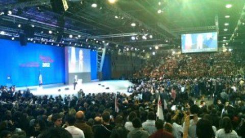 Meeting du Bourget, discours de François Hollande