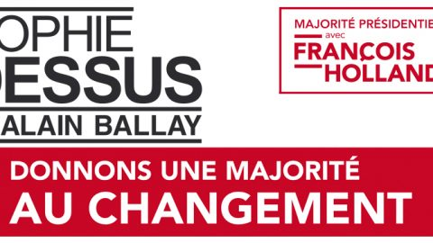Elections législatives des 10 et 17 juin, Sophie Dessus et Alain Ballay en réunion publique à Egletons