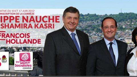 Second tour des législatives : tous derrière Philippe NAUCHE et Shamira KASRI !