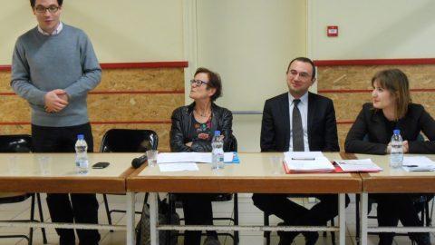 Réunion publique sur le thème du mariage pour tous à Egletons