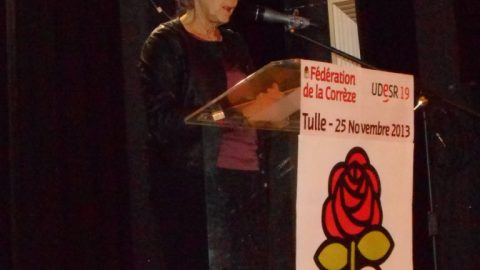 Réunion publique à Tulle avec Marylise Lebranchu, ministre de la réforme de l'Etat