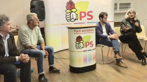 La députée européenne Karine Gloanec Maurin en visite en Corrèze