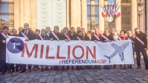 1 million de signatures pour le référendum ADP !