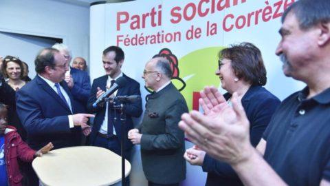 François HOLLANDE et Bernard CAZENEUVE à Brive dans le prolongement de la Foire du Livre