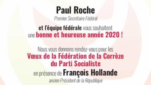 La Fédération de la Corrèze du Parti Socialiste vous présente ses meilleurs vœux pour l'année 2020 !
