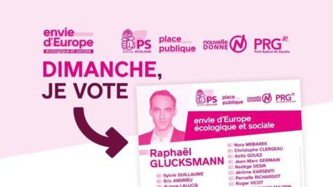 En Corrèze, le dimanche 26 mai, ALLEZ voter Envie d'Europe et ALLEZ Brive!