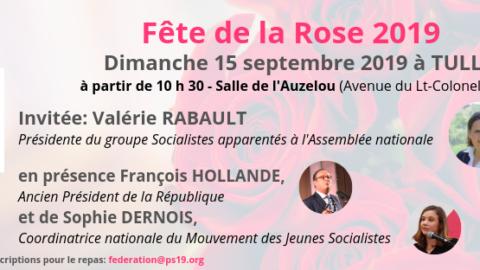 Fête de la Rose – Dimanche 15 septembre 2019 à TULLE