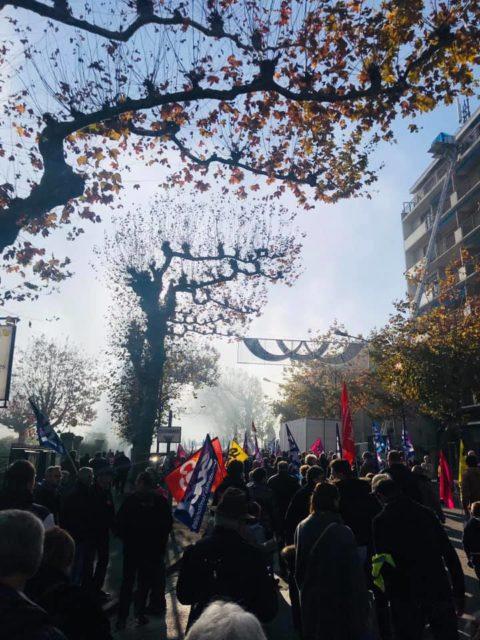 La Corrèze se mobilise contre la réforme des retraites